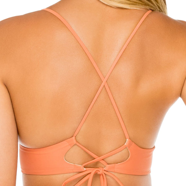 COSITA BUENA - Cross Back Bustier Top-WAC