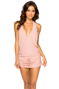 COSITA BUENA - T Back Mini Dress • Rosa (1119419695148)