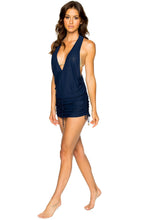 COSITA BUENA - T Back Mini Dress • Marino