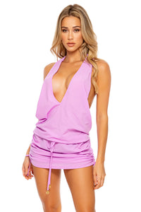 COSITA BUENA - T Back Mini Dress • Lavanda