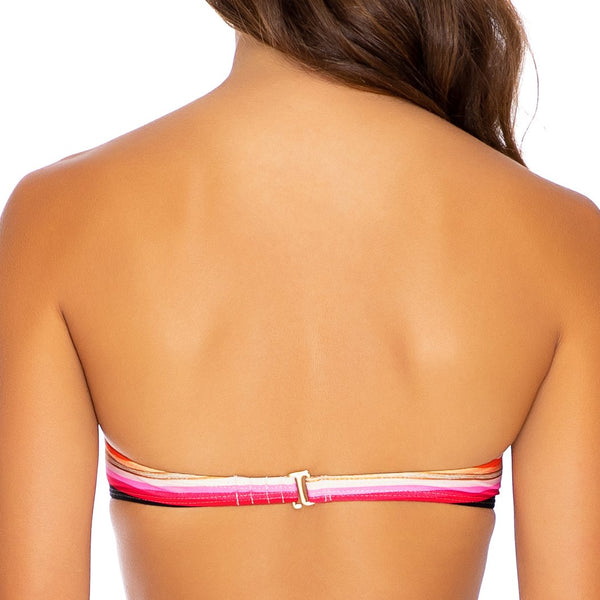 GOLDMINE - Underwire Push Up Bandeau Top