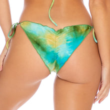 OFF DUTY MERMAID - Wavey Ruched Back Tie Side Bottom