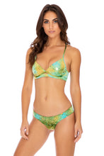 OFF DUTY MERMAID - Underwire Top & Seamless Wavey Ruched Back Bottom • Multicolor