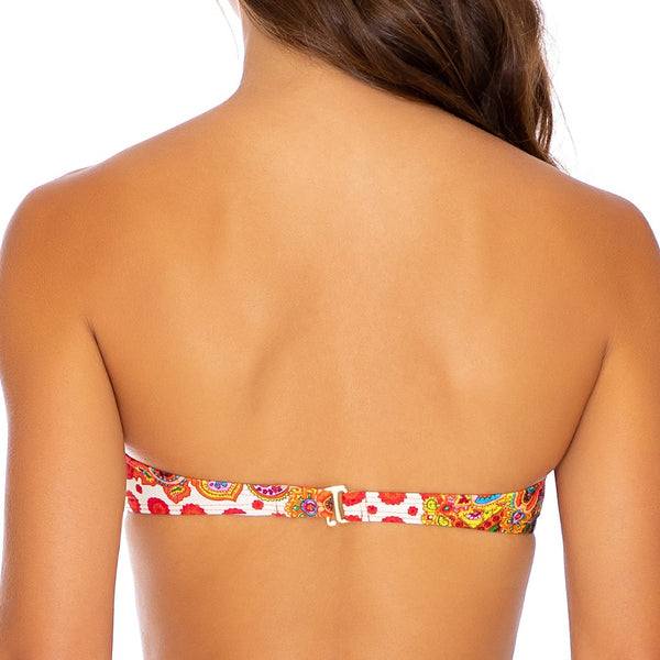 HEARTBREAKER - Underwire Push Up Bandeau Top