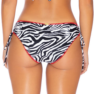 JUNGLE QUEEN - Drawstring Side Full Bottom