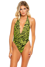 FIERCE CALL - One Piece Bodysuit • Lime