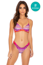 JEWELED - Underwire Top & High Leg Bottom • Multicolor