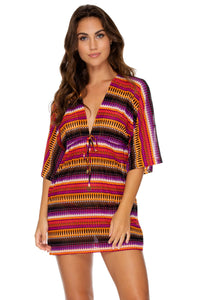 TIMBALES - Short Tunic • Multicolor