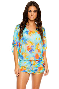 TWISTED MERMAID - South Beach Dress • Multicolor