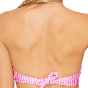 CORAZON LATINO - Bow Bandeau Top