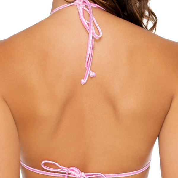 CORAZON LATINO - Molded Push Up Bandeau Halter