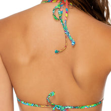 MIAMI MIX - Molded Push Up Bandeau Halter