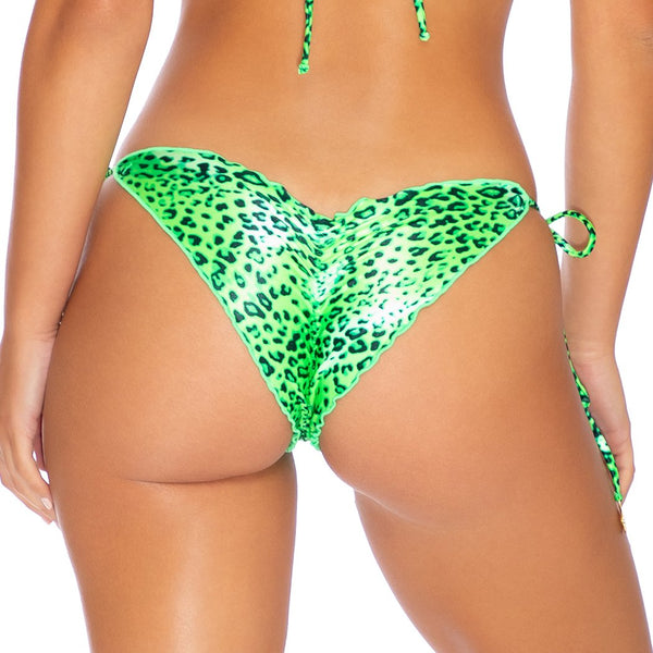 ROCKSTAR - Wavey Ruched Back Tie Side Bottom (3924788084838)