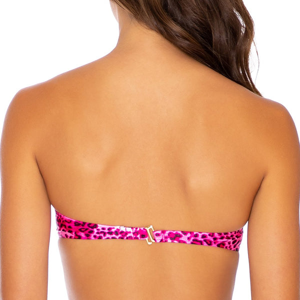 ROCKSTAR - Underwire Push Up Bandeau Top (3924787953766)