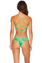 ROCKSTAR - Underwire Top & Drawstring Ruched  Bottom • Neon Lime