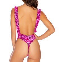 ROCKSTAR - Tank Open Sides Thong One Piece Bodysuit