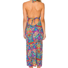 PACHANGA - Maxi Halter Dress