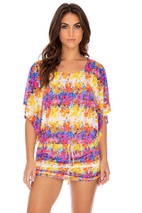 DULCE TORMENTO - South Beach Dress • Multicolor