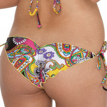 FIESTA Y CARIBE - Wavey Brazilian Ruched Tie Side
