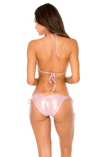 AY DIOS MIO - Molded Push Up Bandeau & Tie Side Moderate • Rose Champagne