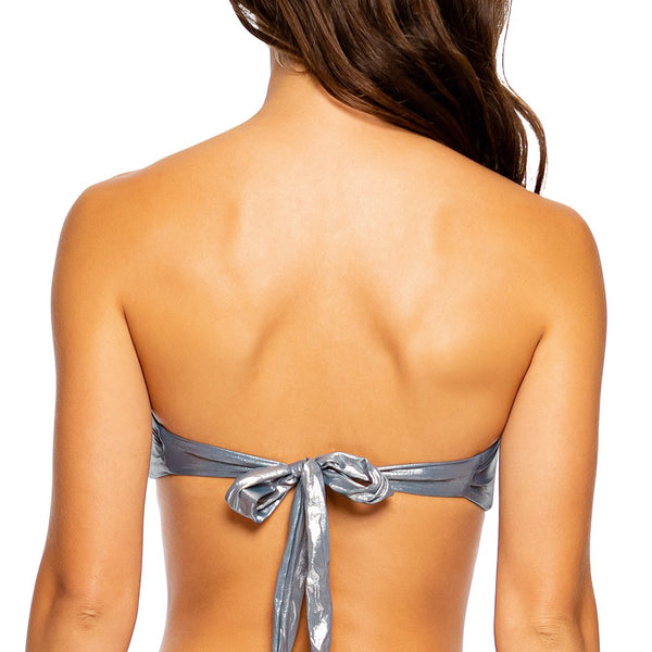 HEAVY METAL - Twist Bandeau Top