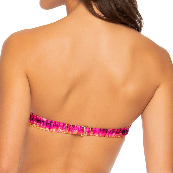 AFTERGLOW - Underwire Push Up Bandeau Top