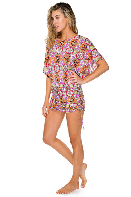 FLOR DE VERANO - South Beach Dress • Multicolor