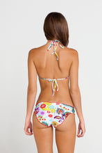 TEQUILA Y SAL - Wavey Triangle Top & Full Ruched Back Bottom • Multicolor