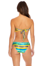 OLAS INFINITAS - Twist Bandeau Top & Scrunch Side Full Bottom • Multicolor