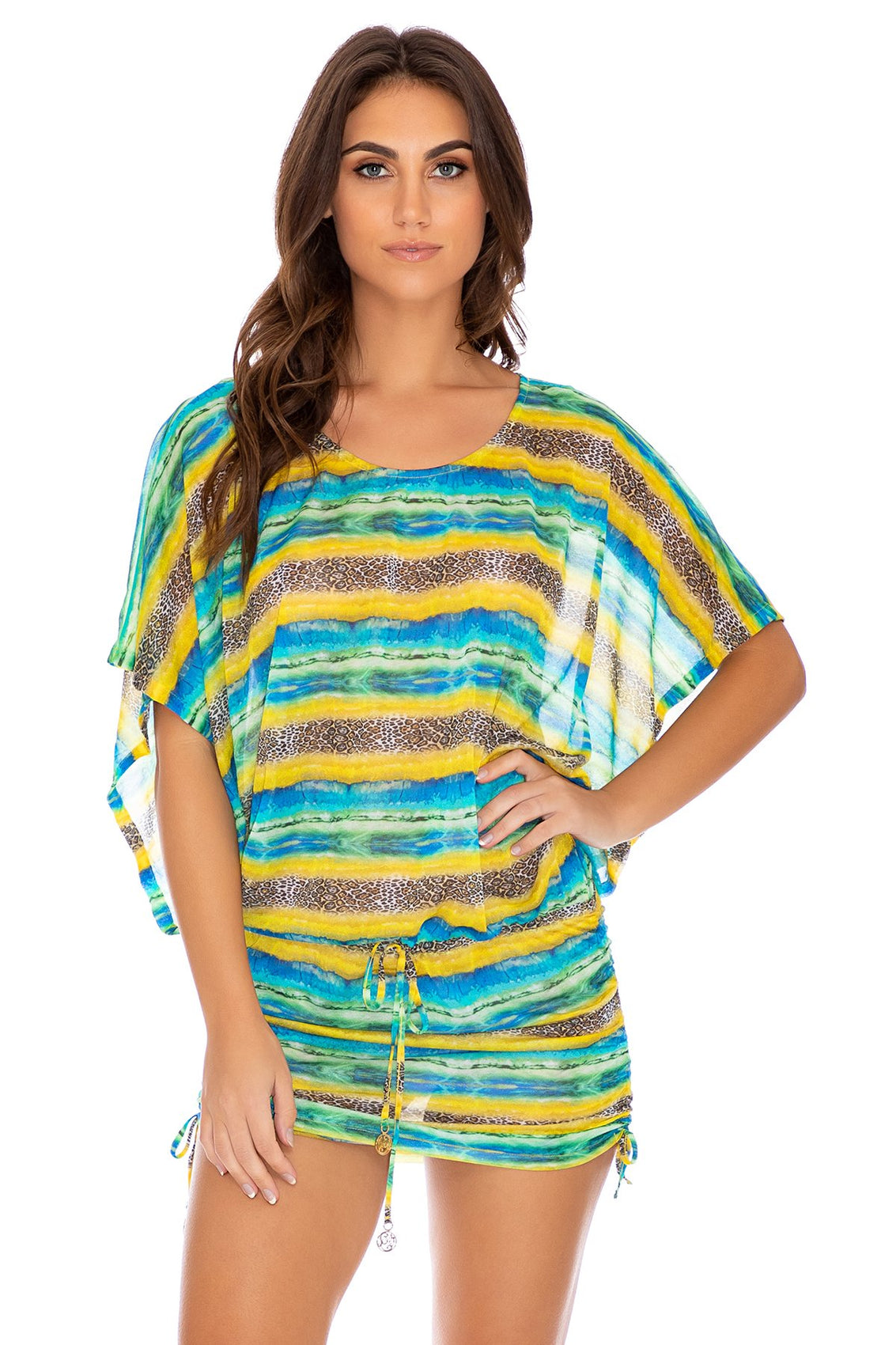 OLAS INFINITAS - South Beach Dress • Multicolor