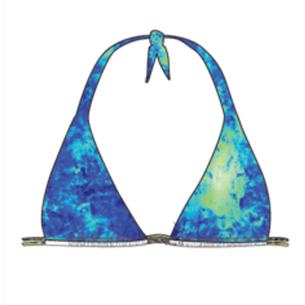 ANTOJITOS DEL MAR - Triangle Halter Top