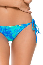 ANTOJITOS DEL MAR - Triangle Top & Wavey Ruched Back Brazilian Tie Side Bottom • Multicolor