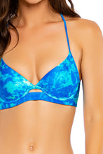 ANTOJITOS DEL MAR - Underwire Top & Full Ruched Back Bottom • Multicolor