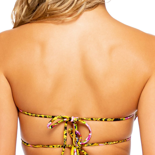 BACK  IN TIME - Multiway Scrunched Cup Bandeau