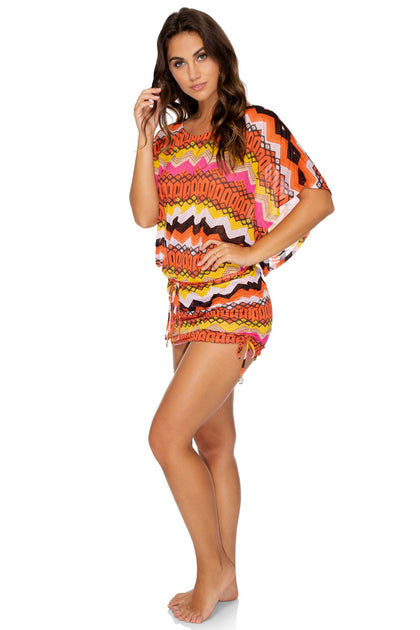 MAGICO DELIRIO - South Beach Dress • Multicolor