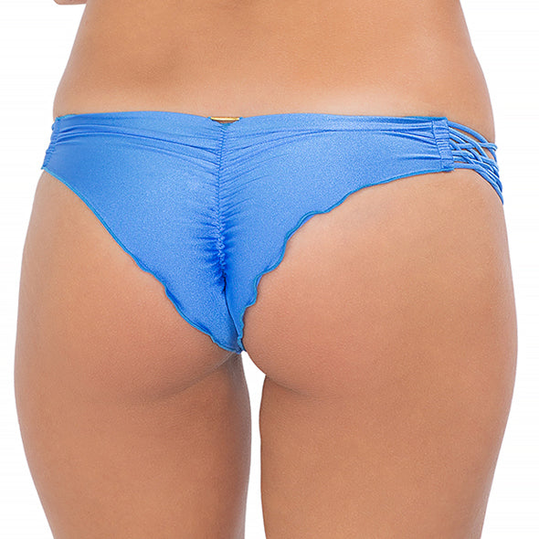CUBA LIBRE - Strappy Brazilian Ruched Back Bottom