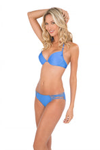 CUBA LIBRE - Push Up Underwire Top & Criss Cross Sides Full Bottom • Sea Angel