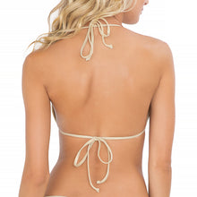 MOON OVER MIAMI - Molded Push Up Bandeau Halter Top