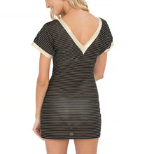 MOON OVER MIAMI - Vneck Bodycon Dress
