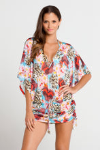 LA ISLA BONITA - Cabana V Neck Dress • Multicolor