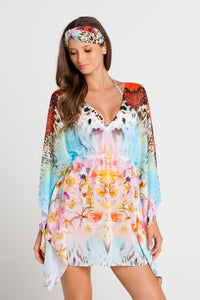 LA ISLA BONITA - Caftan Dress • Multicolor (862522867756)