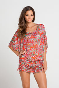 AZULEJOS DEL MAR - South Beach Dress • Multicolor