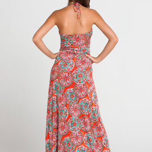 "AZULEJOS DEL MAR - ""cocktail Hour"" Maxi Dress"