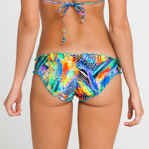 AGUA DE FUEGO - Full Ruched Back Bottom (865446821932)