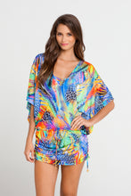 AGUA DE FUEGO - Cabana V Neck Dress • Multicolor