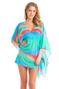 MERMAID GLITTER - Caftan Dress • Multicolor (862524571692)