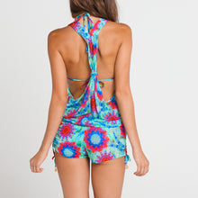 BEACH FEVER - T Back Romper