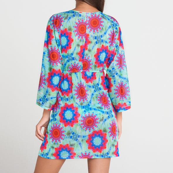 BEACH FEVER - Long Sleeve Tunic