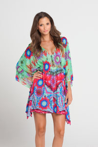 BEACH FEVER - Caftan Dress • Multicolor (862476206124)