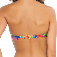 MUNDO DE COLORES - Underwire Push Up Bandeau Top
